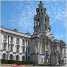 Stockport's wedding cake Town Hall