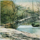 Roman Bridge,Marple,1900s