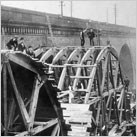 Widening the Viaduct in 1887