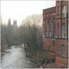 Palmer Mill, Portwood, beside the Goyt