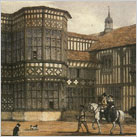 Bramall Hall in Tudor times